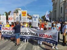 """""""Białe miasteczko"""" w centrum Warszawy. Będzie stało do skutku"""