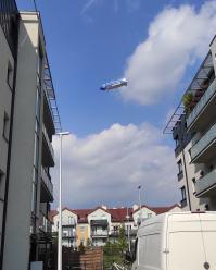 Czytelnicy pochwalili się fotkami Zeppelina, który przelatywał nad Opolszczyzną