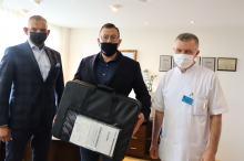 Gastroskop, wart 50 tys. zł, uzupełnił wyposażenie Pracowni Badań Endoskopowych USK