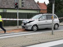Zderzenie pojazdów w Lędzinach