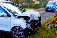 KMP Opole poszukuje świadków wypadku w Dobrzeniu Wielkim