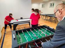 Podopieczni DPS Prószków zyskali nowoczesną salę do ćwiczeń