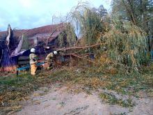 Strażacy odnotowali 323 zdarzenia związane z silnym wiatrem w województwie