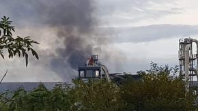 Wybuch w zakładzie produkcyjnym pod Strzelcami Opolskimi