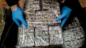 Akcja CBŚP w powiecie nyskim. Znaleziono 150 kg haszyszu