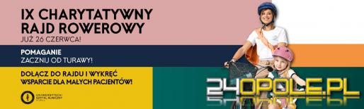CH Turawa Park zaprasza na IX Charytatywny Rajd Rowerowy