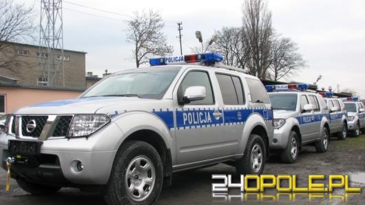Nowe terenówki dla policji