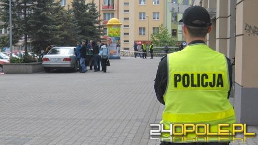 Wizja lokalna po strzelaninie pod Opolaninem