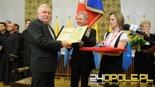 Lech Wałęsa honorowym obywatelem Opola