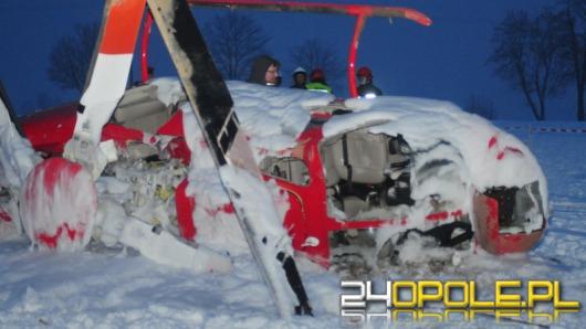 Wypadek helikoptera - nowe fakty i zdjęcia