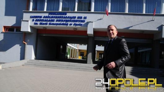 Grzegorz Schetyna odwiedził w Opolu swoje liceum