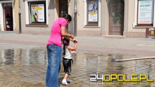 Kurtyny wodne ochłodzą Opolan