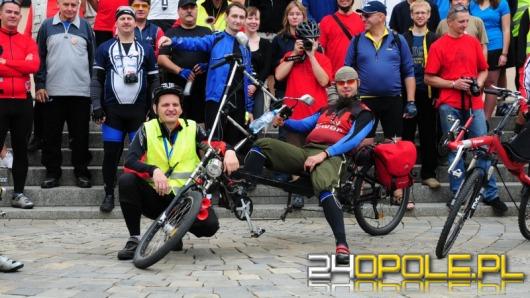 Fani rowerów poziomych przyjechali do Opola