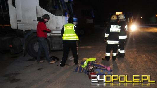Kierowca gotował w kabinie ciężarówki, spowodował pożar
