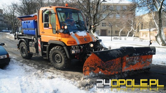 Zima w Opolu tania dla drogowców
