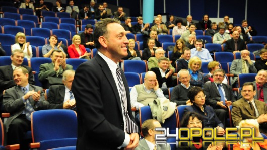 Profesor Marek Tukiendorf nowym rektorem PO
