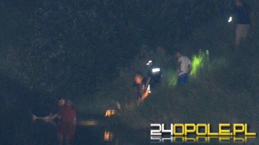 Strażak-ochotnik uratował kobietę, która rzuciła się z mostu do Odry