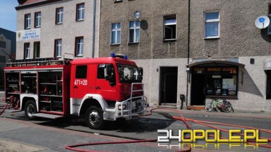 W Oleśnie eksplodowały butle z gazem, 12 osób jest rannych