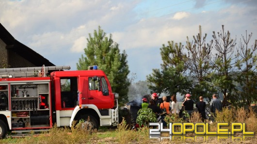 Ćwierć miliona złotych strat po pożarze stolarni