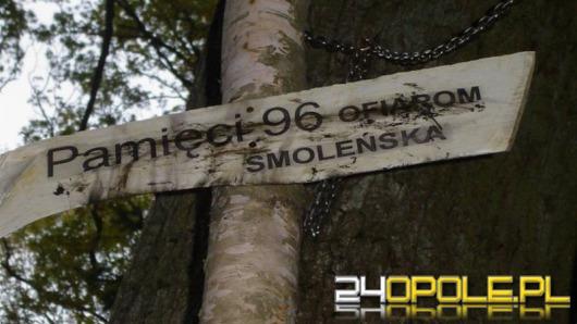 W Strojcu powstał leśny pomnik ofiar katastrofy smoleńskiej