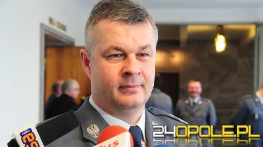 Komendant Główny dobrze ocenia pracę opolskiej policji