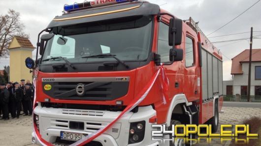 OSP w Dobrzeniu Małym ma nowy wóz bojowy