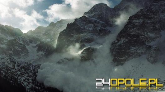 Turysta z Kluczborka zginął porwany przez lawinę w Tatrach