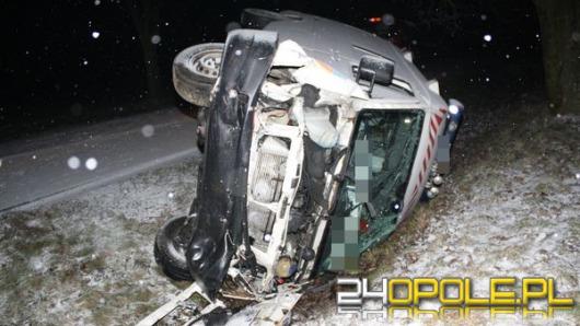 Prokuratura bada przyczyny wypadku z karetką pod Namysłowem