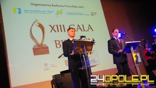 """Izba Gospodarcza """"Śląsk"""" wybrała najlepsze firmy 2012 roku"""