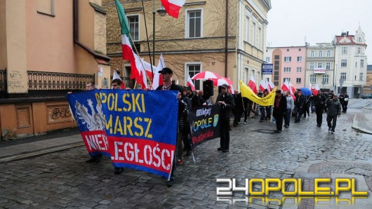 Ulicami Opola przeszedł III Opolski Marsz Niepodległości