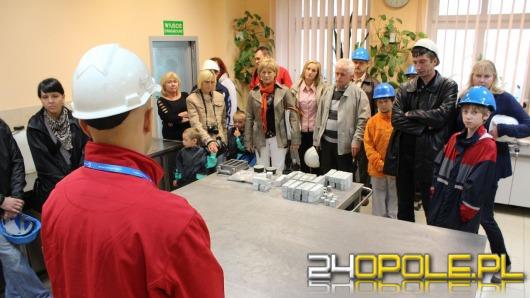 Tłumy Opolan podglądały jak powstaje cement