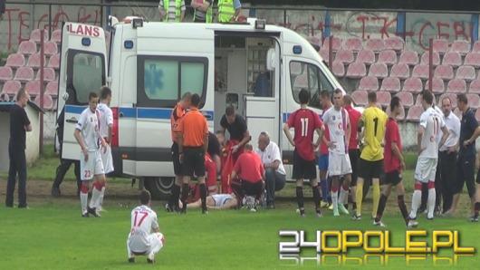 Zawodnik Odry Opole walczył o życie podczas meczu