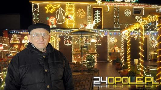 Świąteczna iluminacja przyciąga do Krapkowic turystów z całego świata