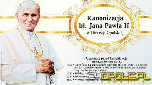 Obchody kanonizacji papieża Jana Pawła II