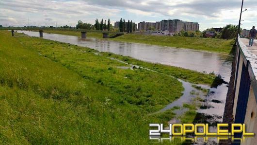 Powoli opada woda w rzekach Opolszczyzny