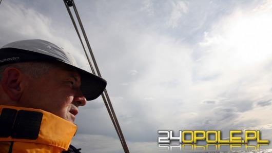 Opolski żeglarz samotnie pokona Bałtyk