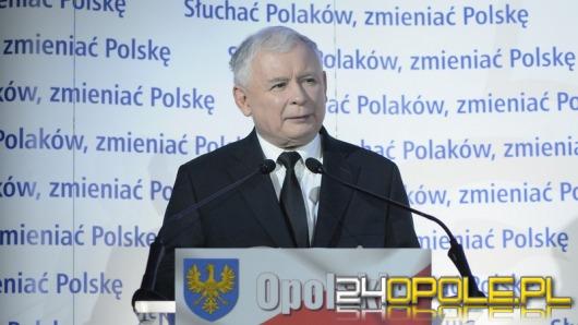 Jarosław Kaczyński w Opolu: Władza PO musi się tu skończyć!