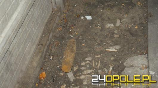 Na Zaodrzu znaleziono niewybuch