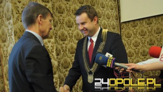 Arkadiusz Wiśniewski zaprzysiężony na prezydenta Opola