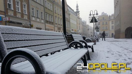 Pierwszy śnieg w Opolu. Ale tylko na dwa dni.