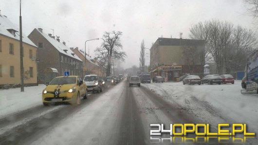 Bardzo trudne warunki na drogach Opolszczyzny