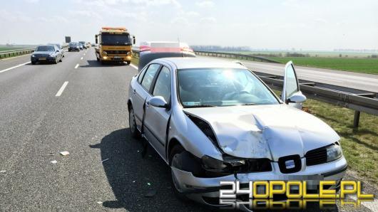 10 aut zderzyło się w 4 kolizjach na autostradzie A4