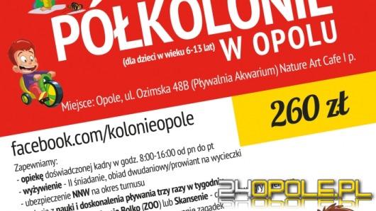 Już dziś zapisz dziecko na półkolonie w Opolu!