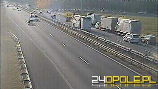 Kierowcy stoją w 14-kilometrowym korku na A4