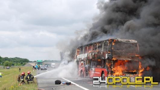 Karambol i pożar na A4. Dwie osoby nie żyją.