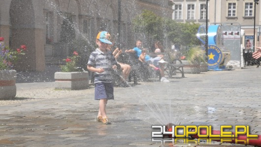 Kurtyny wodne pomogą przetrwać upalne dni