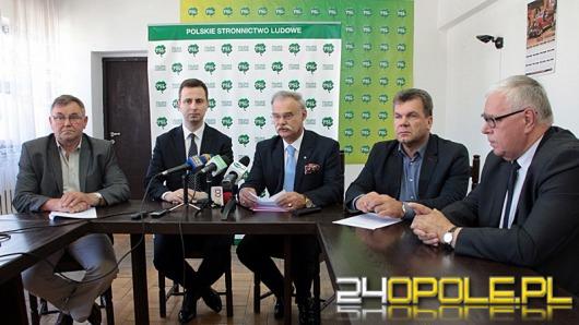 Opolski PSL jako pierwszy przedstawia listy wyborcze