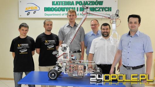 Opolscy studenci budują prototyp łazika marsjańskiego