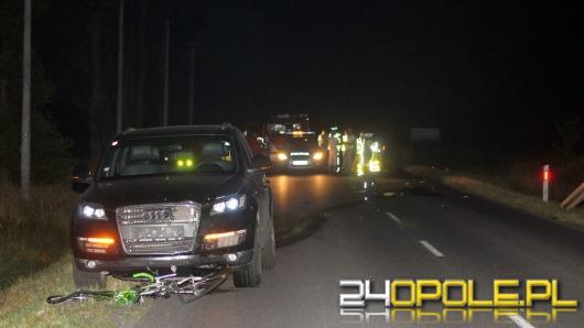 28-letnia rowerzystka zginęła w wypadku pod Zawadzkiem