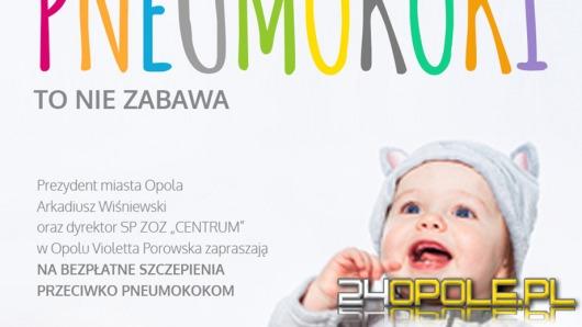 W Opolu ruszają darmowe szczepienia przeciwko pneumokokom